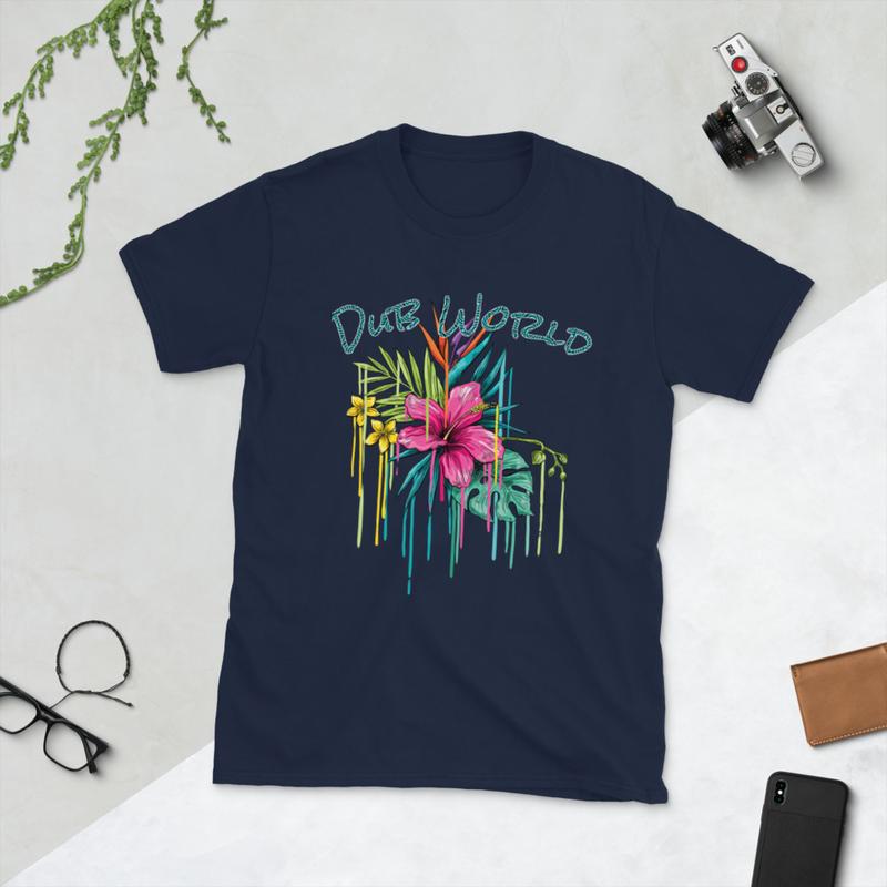 Dub World Flower Tee