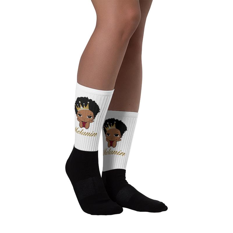 Prince Melanin Socks