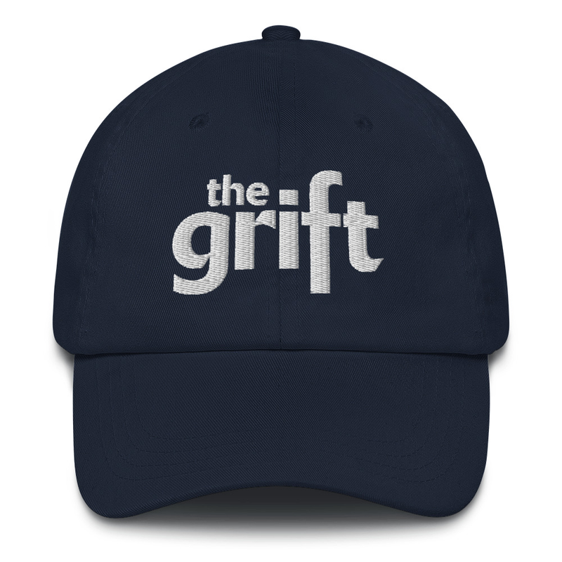 Embroidered Dad Hat - Classic Logo