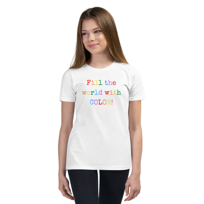 Fill the World With Color- Youth T-Shirt