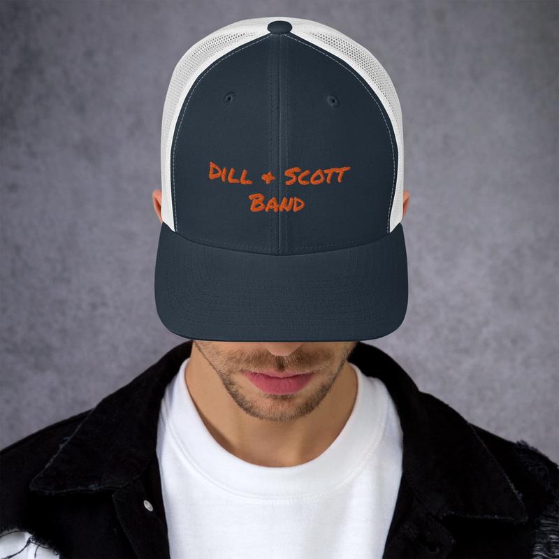 Dill & Scott Band Trucker Cap