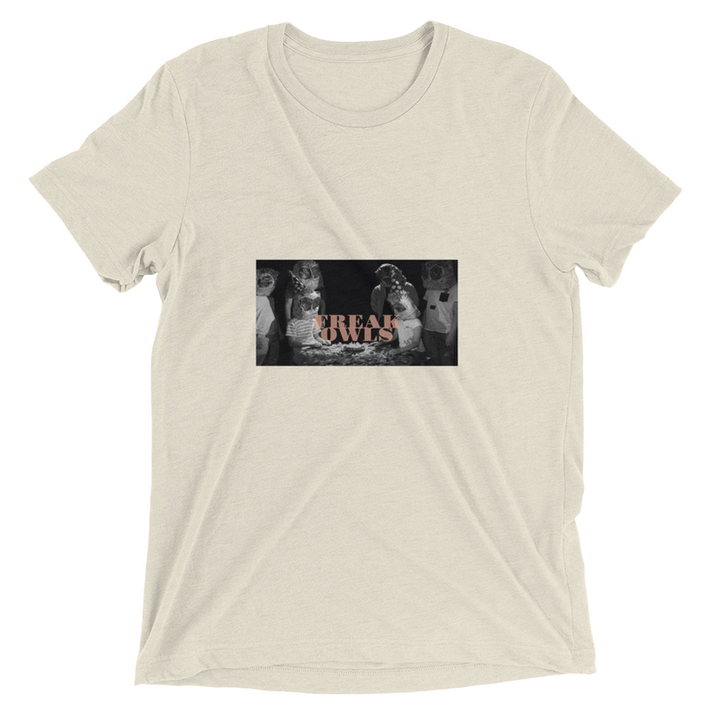 Short sleeve t-shirt (Freak Owls - Happy Birthday)