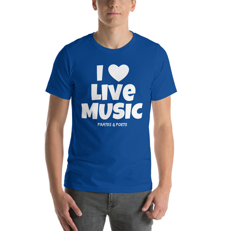 I Love Live Music T-Shirt (2)
