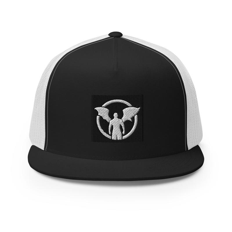 """TD"" Standing Man Logo Trucker Cap"