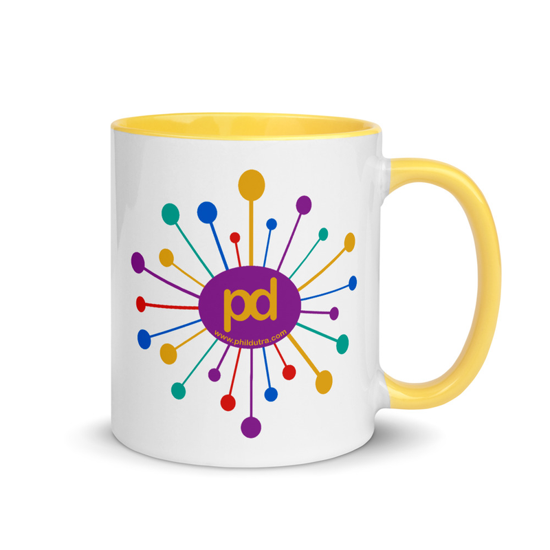 11 oz Starburst Mug with Color Inside
