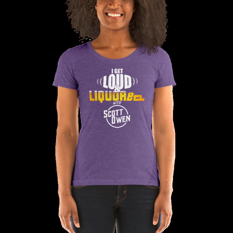 Loud & Liquored Ladies' Tri-Blend T-Shirt