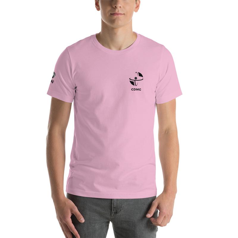 CDMG Unisex Premium T-Shirt | Bella + Canvas 3001 Simple Design