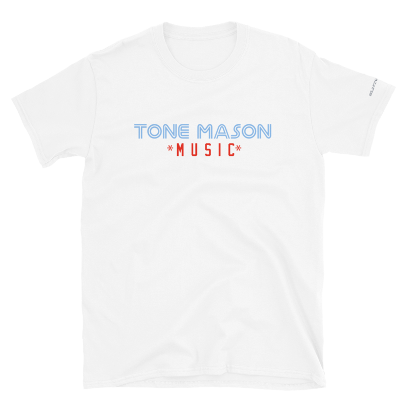 TM Music BJW PWDRBLU logo Short-Sleeve Unisex T-Shirt