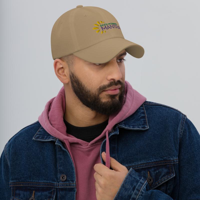 """""""Good Morning Mantra"""" - Curved Visor Hat + Adjustable Buckle Strap"""