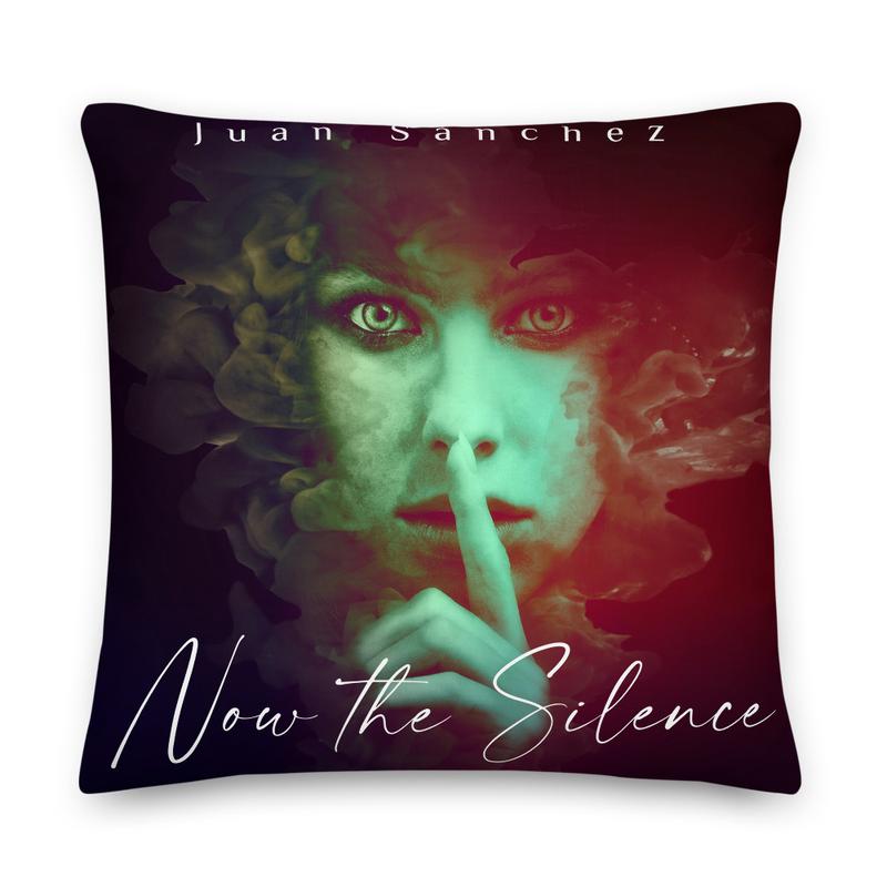 "Juan Sánchez ""Now The Silence"" Album Pillow"