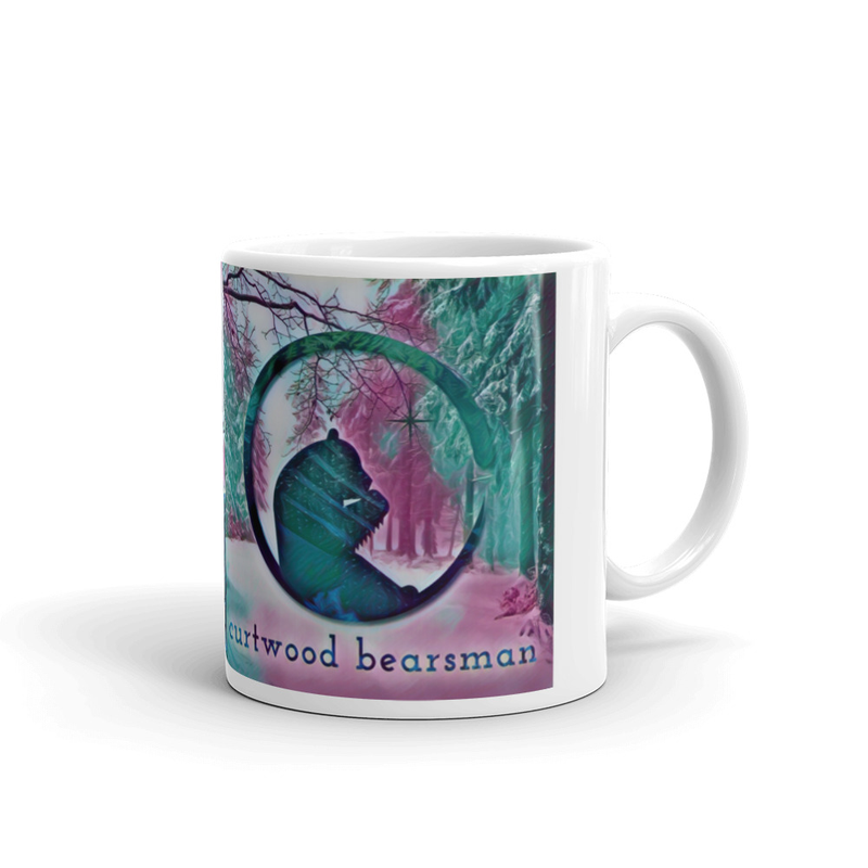 Coffee Mug // Artsy Logo + Curtwood Image