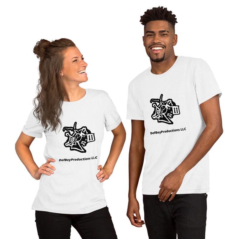 DefBoyProductions LLC Black And White Short-Sleeve Unisex T-Shirt