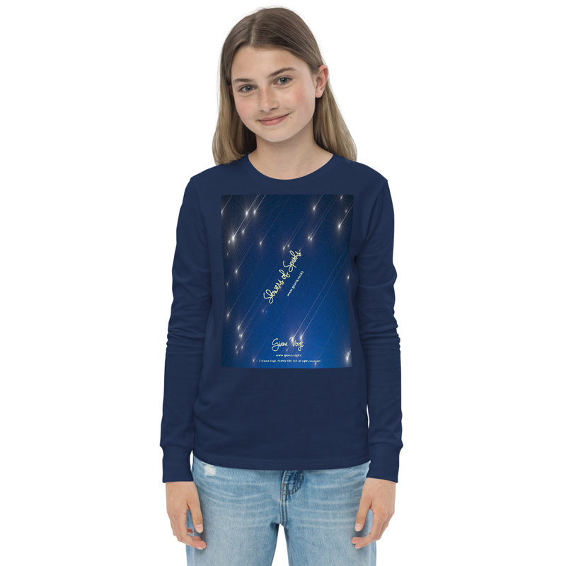 Showers Of Sparks Unisex Youth long sleeve tee