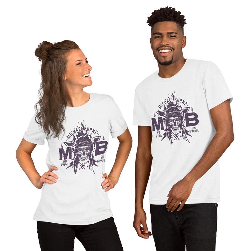 Michael Bonez Logo Short-Sleeve Unisex T-Shirt
