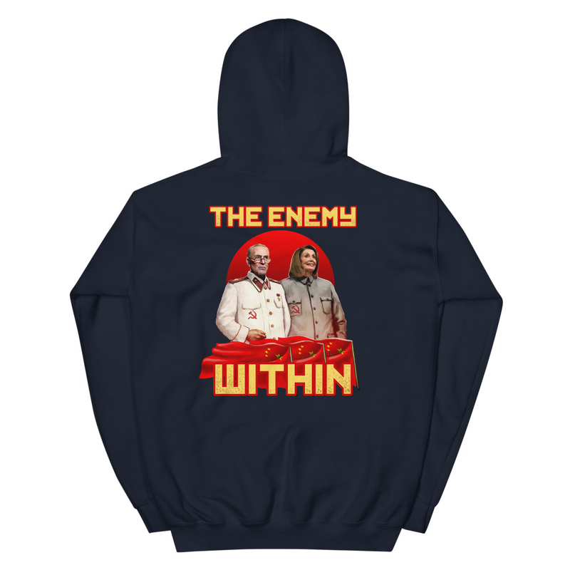The Enemy Unisex Hoodie