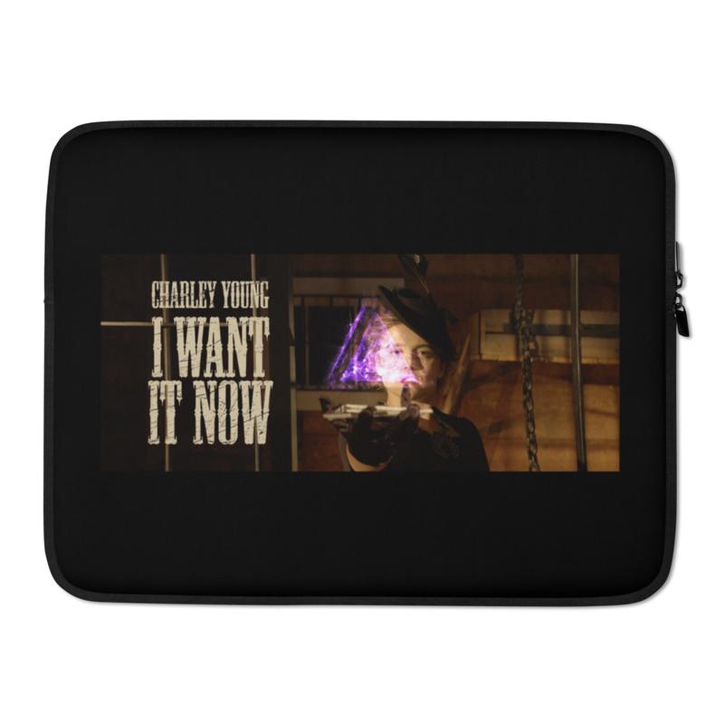 I Want It Now Laptop Sleeve