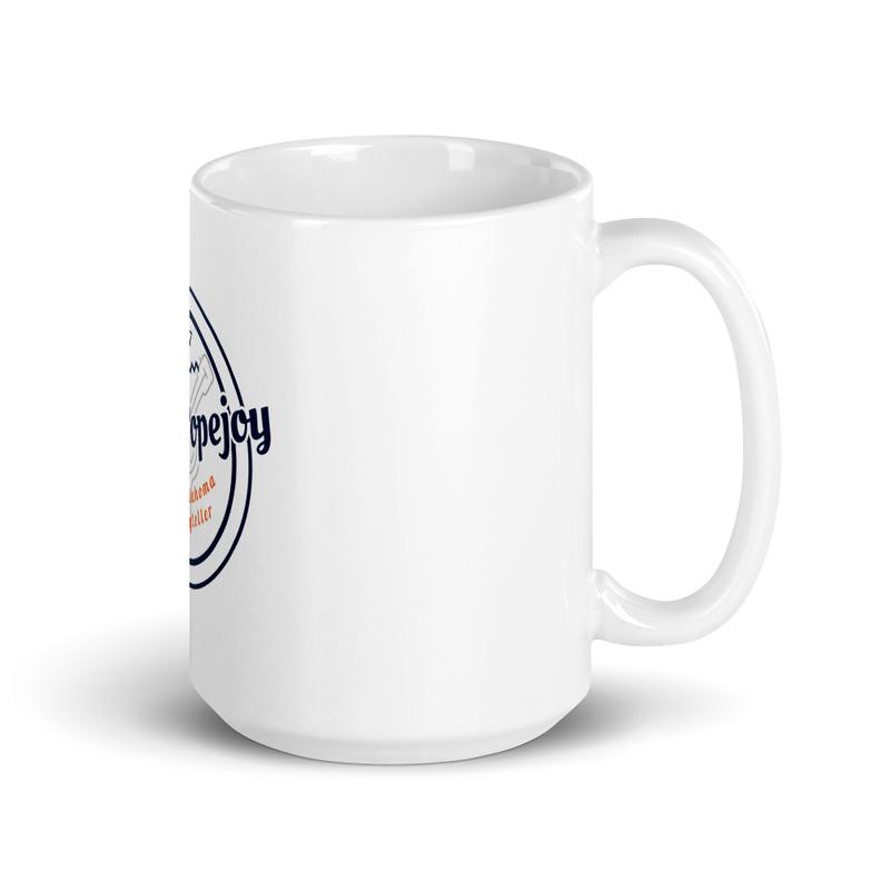Sarah Popejoy White glossy mug