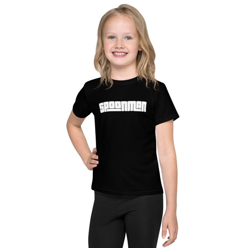 sPoonman Kids crew neck t-shirt