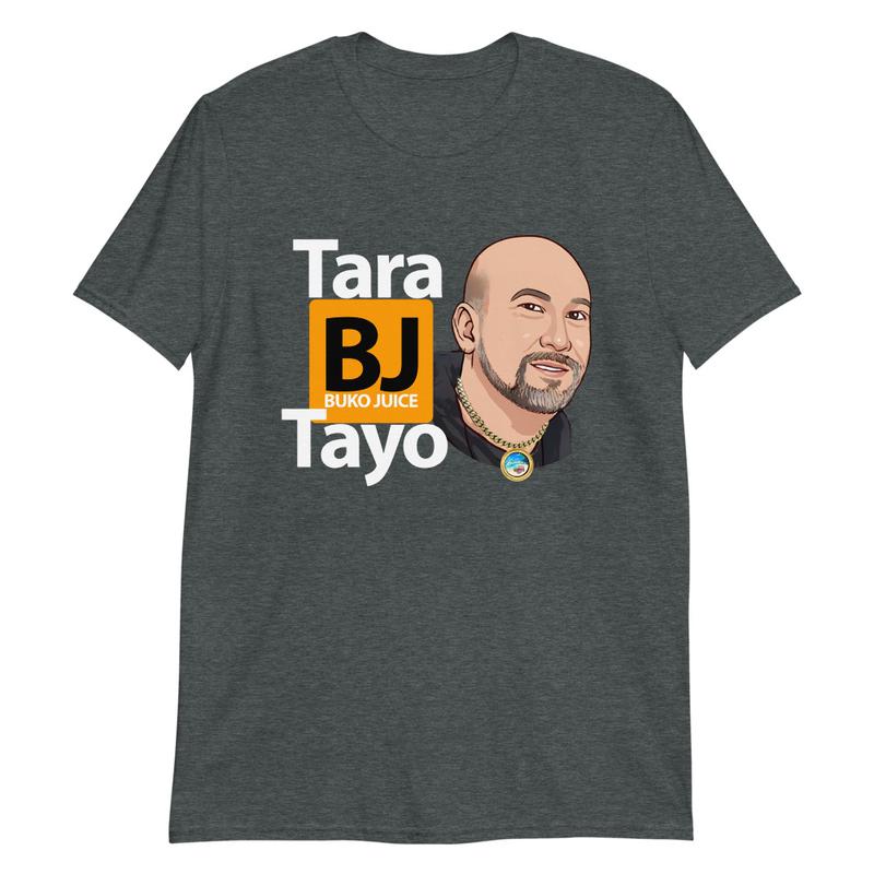Tara Buko Juice Tayo Blk/Gry S/S Unisex T-Shirt