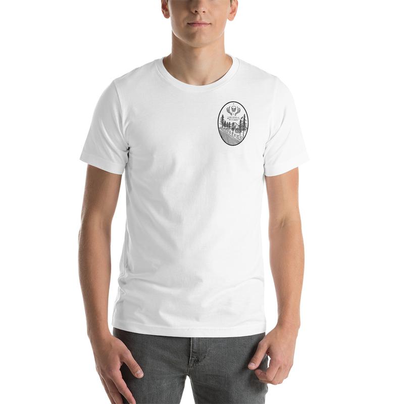 Unisex  Grave Digger T-Shirt White