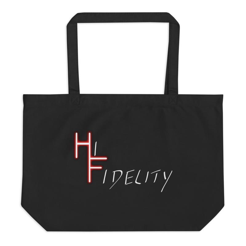 Hi Fidelity Logo Tote Bag
