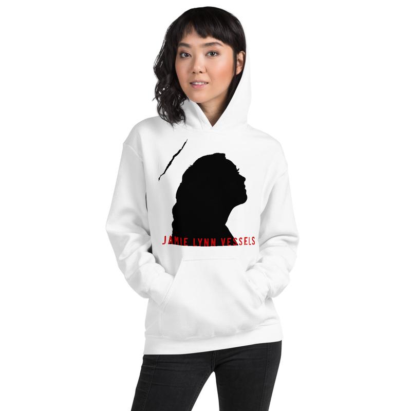 JLV Profile Unisex Hoodie - black logo