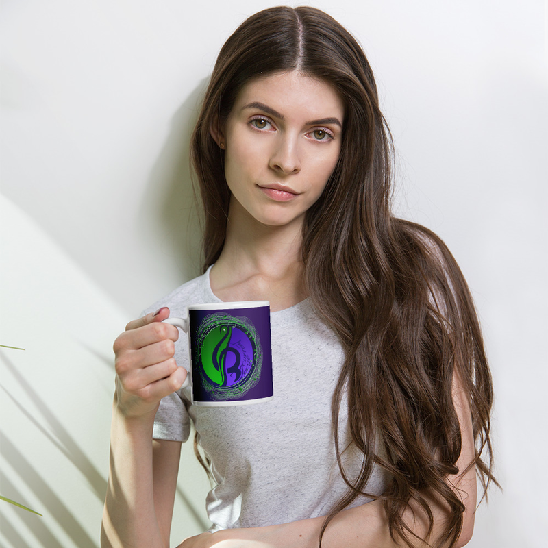 Purple Logo Mug