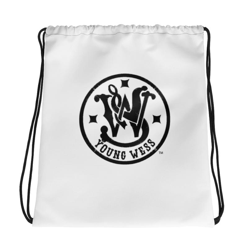 Young Wess Drawstring bag