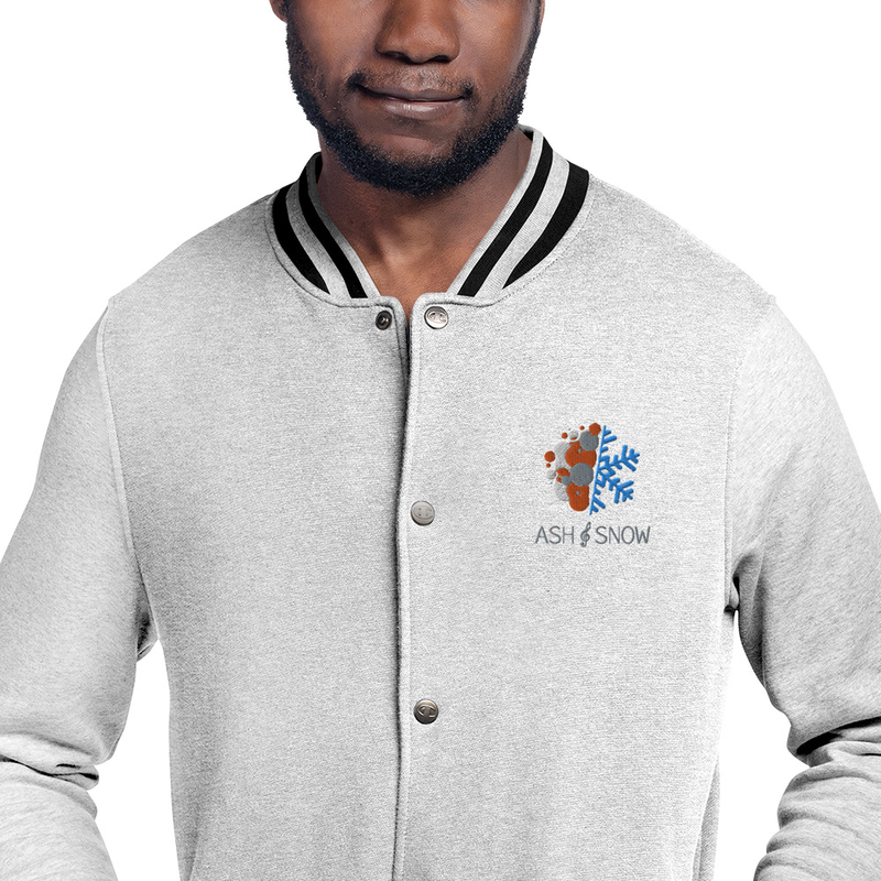 Embroidered Champion Bomber Jacket