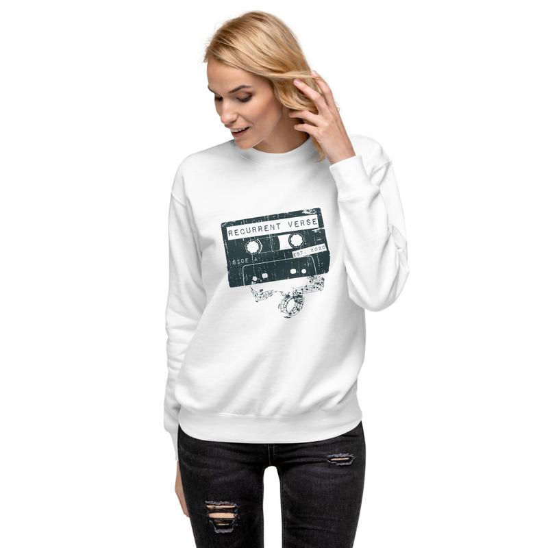 Unisex Fleece Tape Logo Sweatshirt