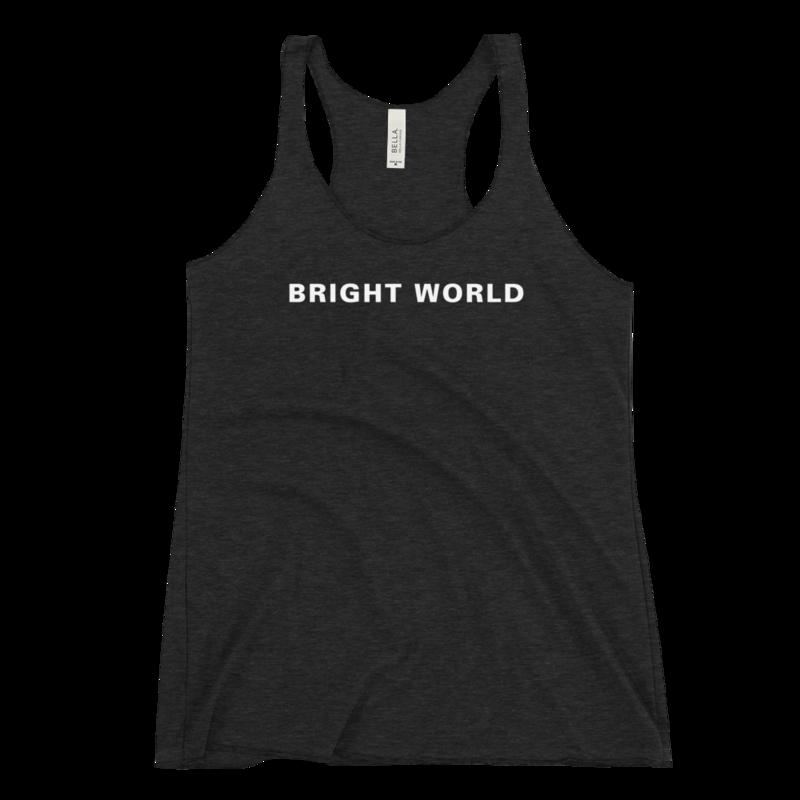 Bright World Racerback Tank