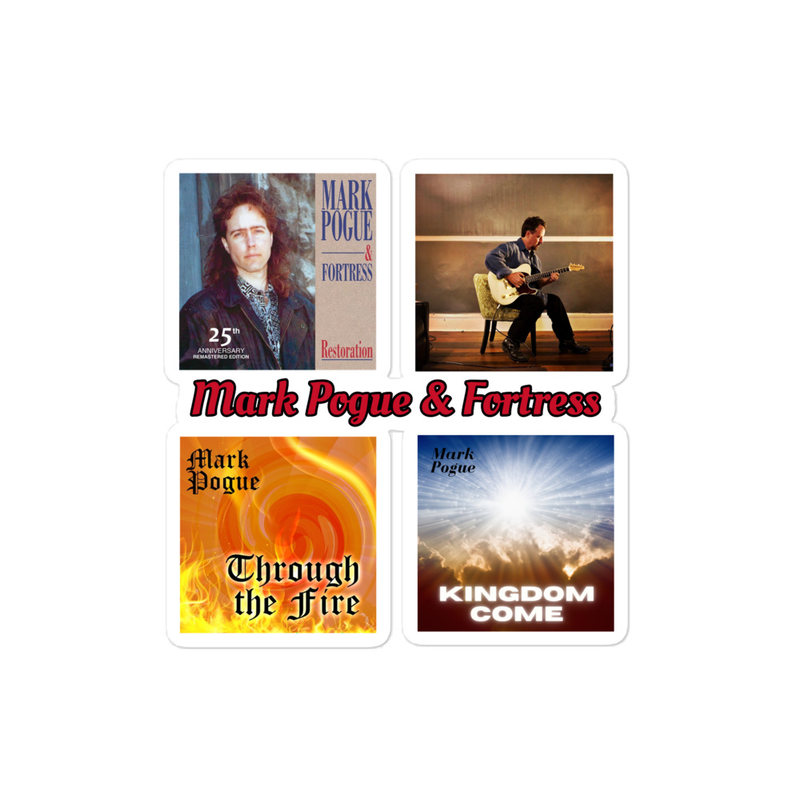 Mark Pogue & Fortress Stickers
