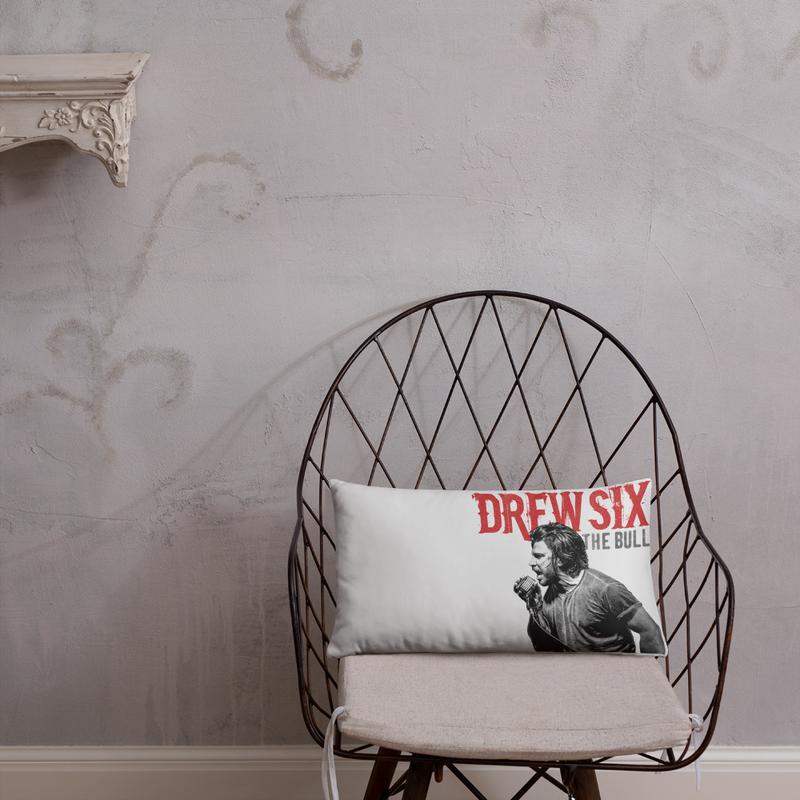 "Drew Six ""The Bull"" Pillow"