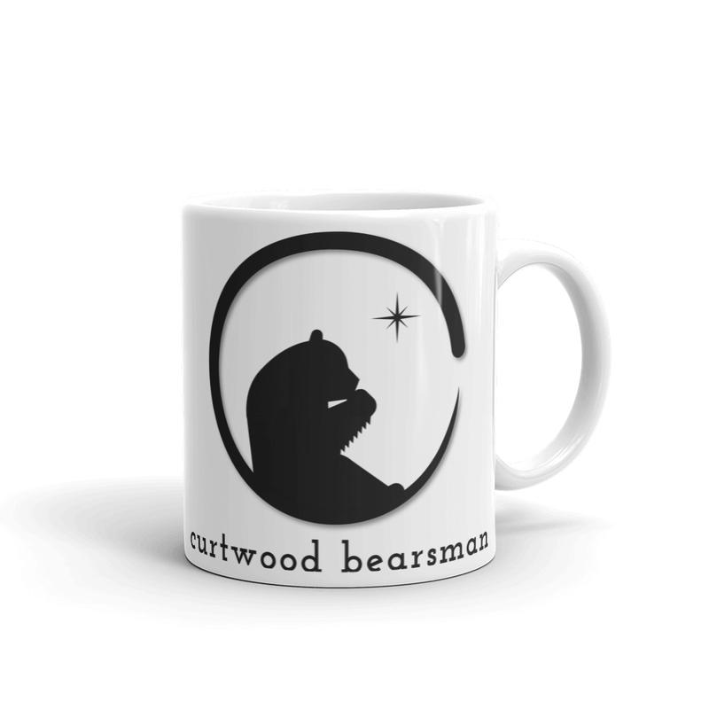 Coffee Mug // Black & White Logo