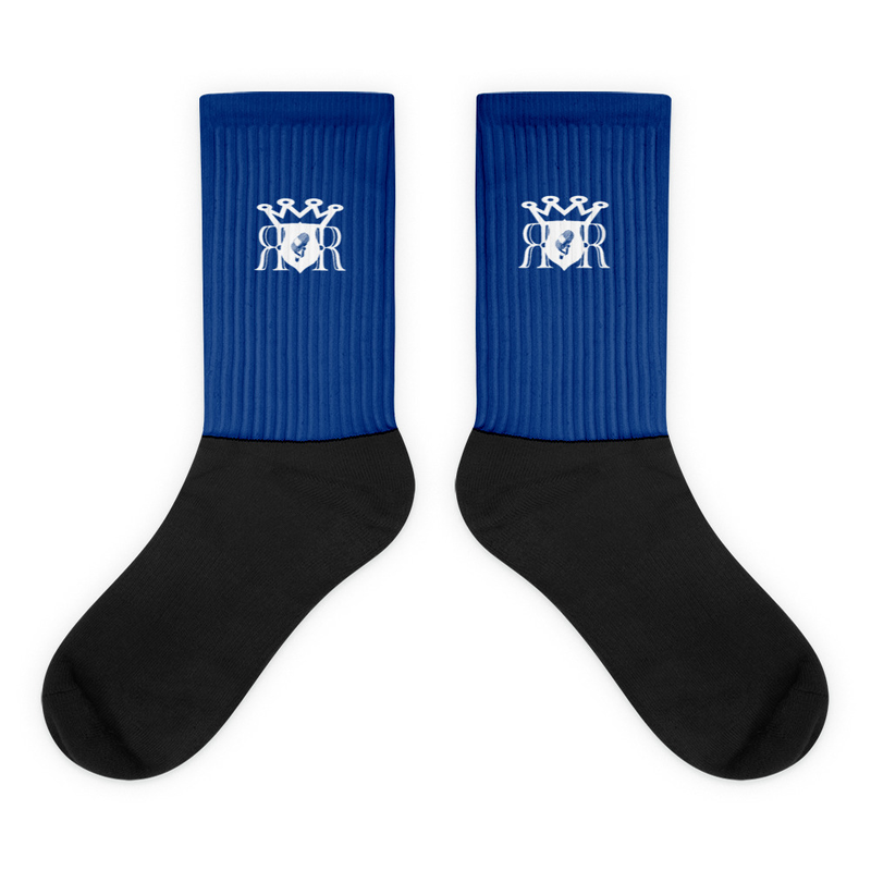 Ron Royal Socks Blue