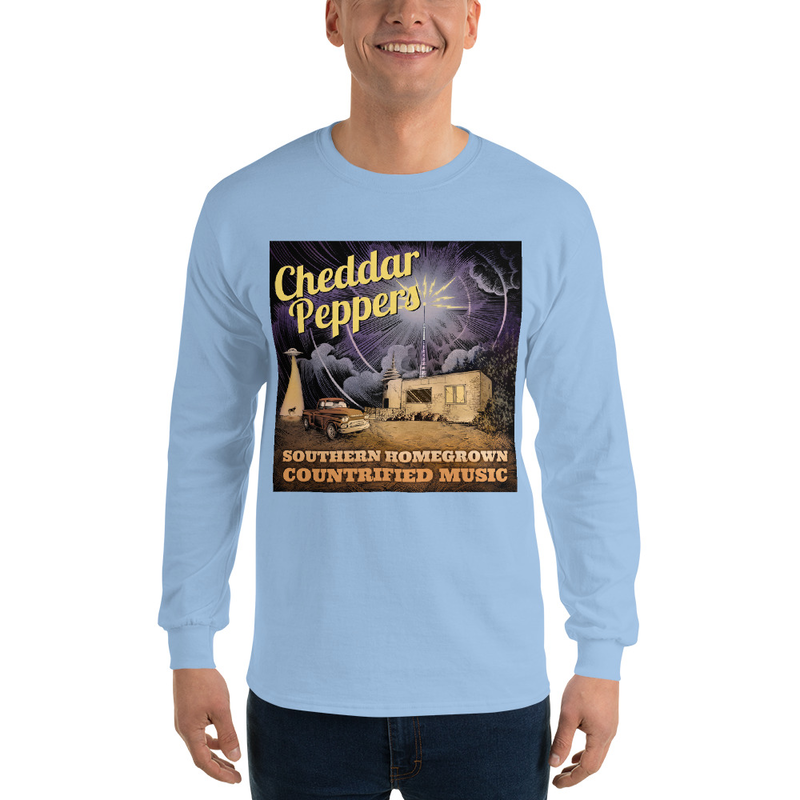 Cheddar Peppers Classic Fit Long Sleeve Shirt