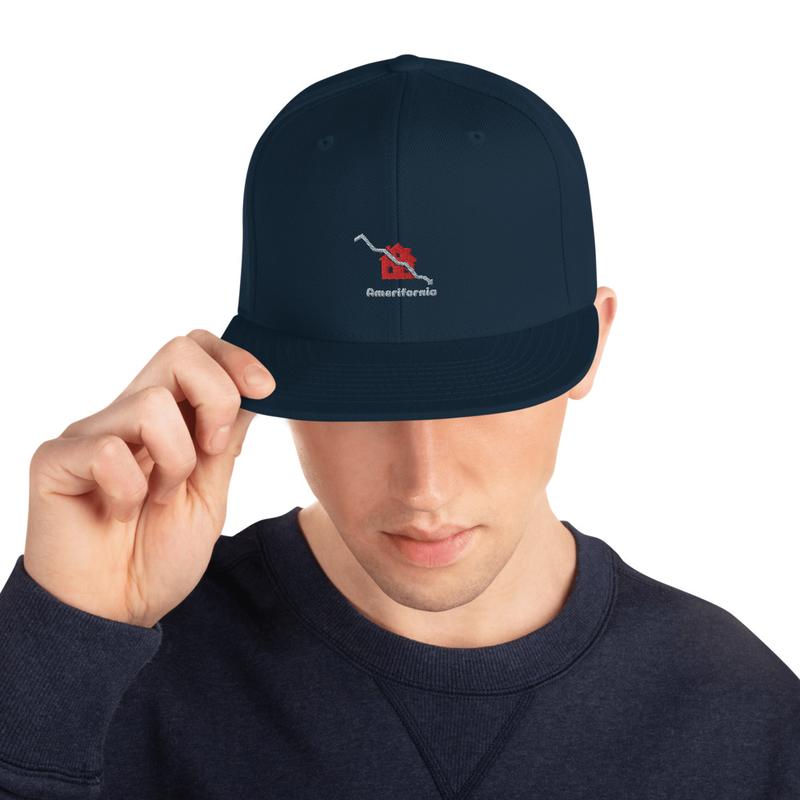 Amerifornia Snapback Hat