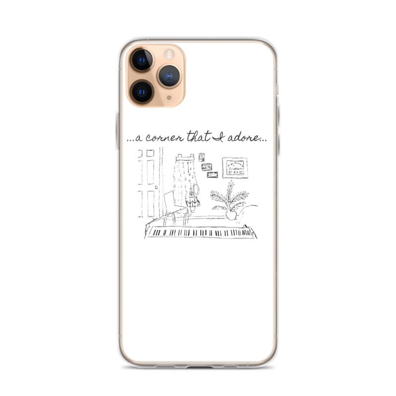"""iPhone """"Corner That I Adore"""" Case"""