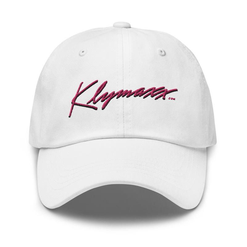 Klymaxx.com Sport Cap / white