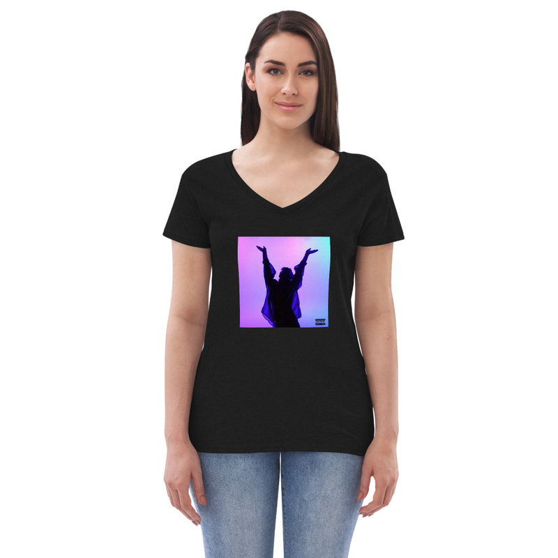 Wish You Well women's v-neck t-shirt