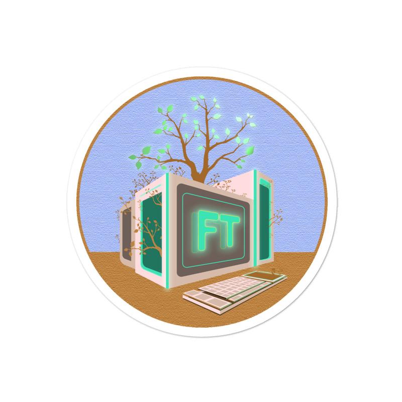 Treeputer Classique sticker