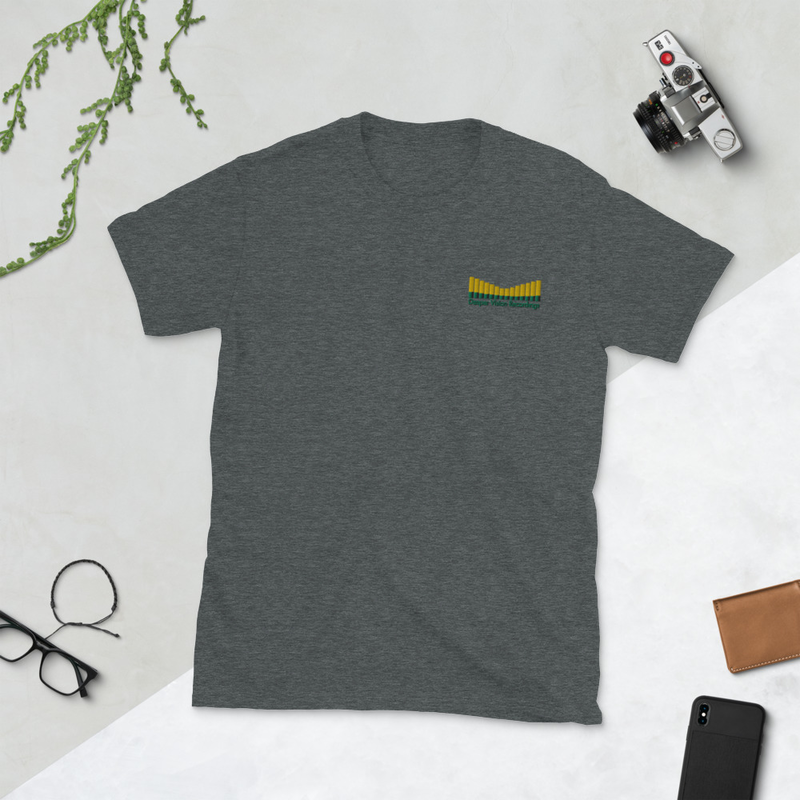 Deeper Vision - Embroidered Short-Sleeve Unisex T-Shirt