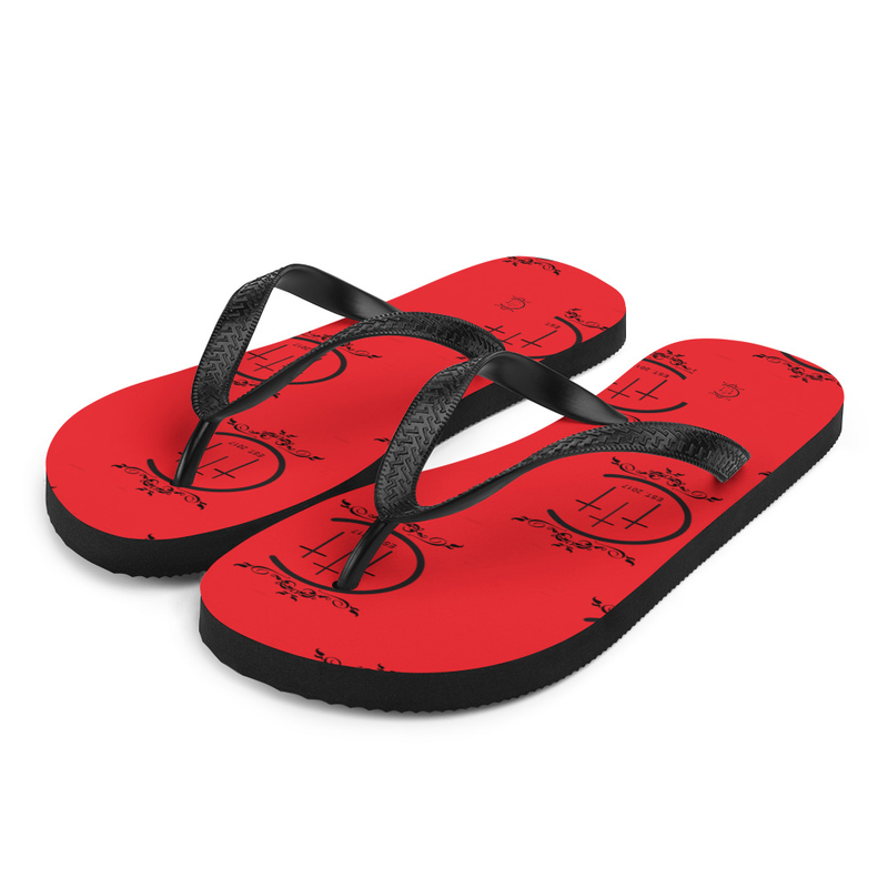 Chuuch-Flops (red)