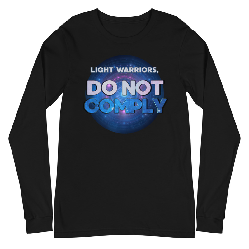 Do Not Comply Unisex Long Sleeve Tee
