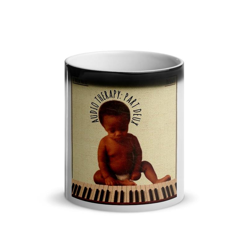 Audio Therapy Glossy Magic Mug