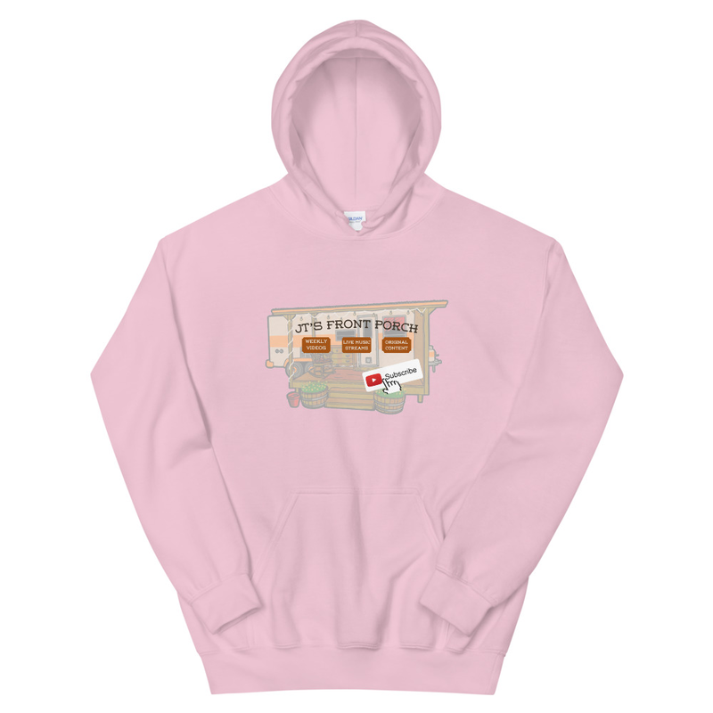 JTs Front Porch YT Subscribe Unisex Hoodie