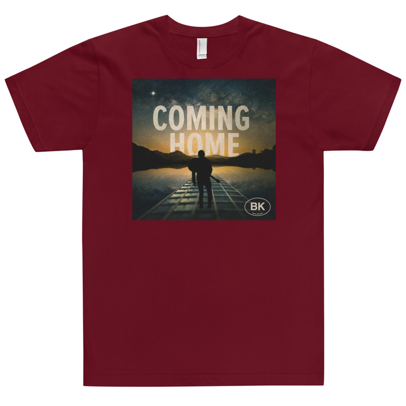 BK Coming Home Cover - Unisex T-Shirt 100% Cotton Made in USA