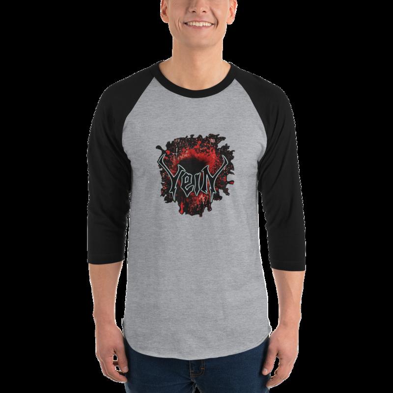 VeiN First Blood 3/4 sleeve raglan shirt