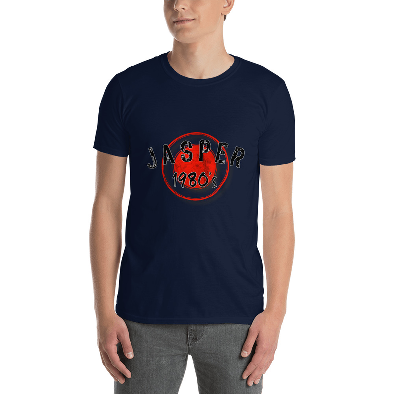 Jasper 1980's Short-Sleeve Unisex T-Shirt