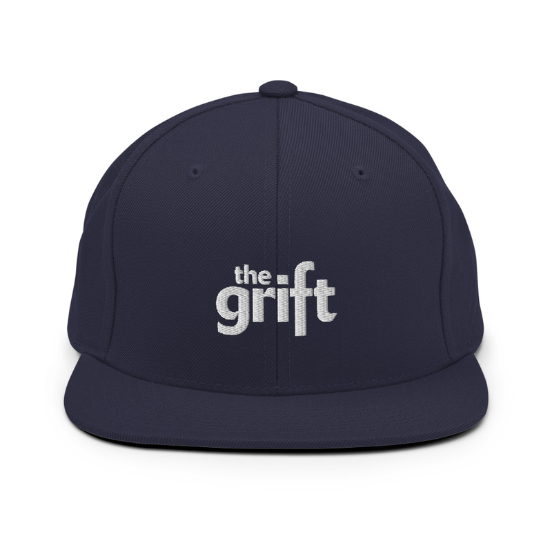 CLASSIC LOGO Embroidered Snapback Hat